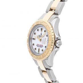 Silber Damen 29mm Replik Rolex Yacht-Master 69623 Faltschließe