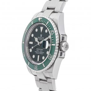 Herren Grün Replik Rolex Submariner Hulk 116610lv Edelstahl