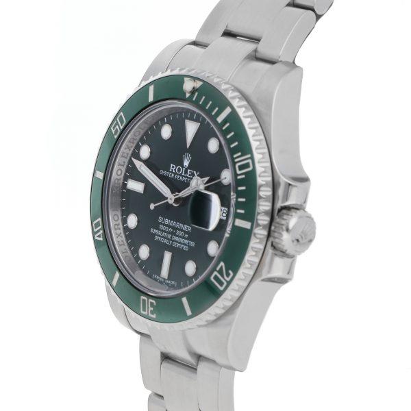 Edelstahl Herren Rolex Submariner Hulk 116610LV Replica Green