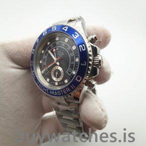 Rolex Yacht-Master 116680 Automatische Herren 44 mm Black Steel Uhr