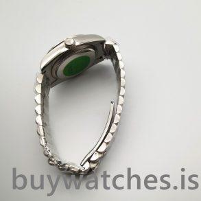 Rolex Day-date 118346 Silbergrau 36 mm Diamonds Automatikuhr