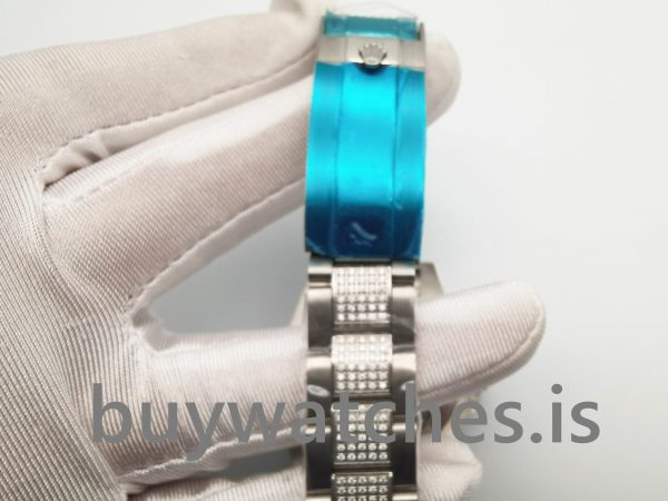 Rolex GMT-Master Ii 116759 Schwarz mit Diamanten 40 Mm Herren Automatikuhr