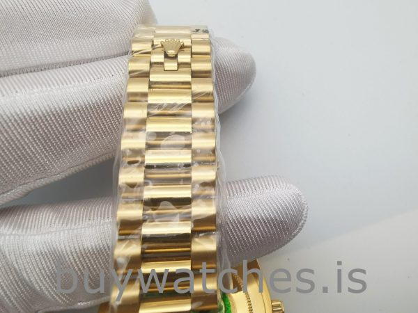 Rolex Day-Date 228348RBR 18 Karat Gold mit Diamanten 40 mm Automatik
