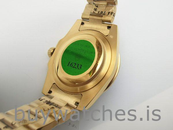 Rolex GMT-Master II 116748 Gelbgold Unisex 40mm Automatikuhr