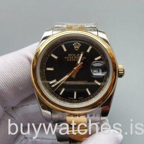 Rolex Datejust 126303 Schwarze 41mm Edelstahl Automatikuhr