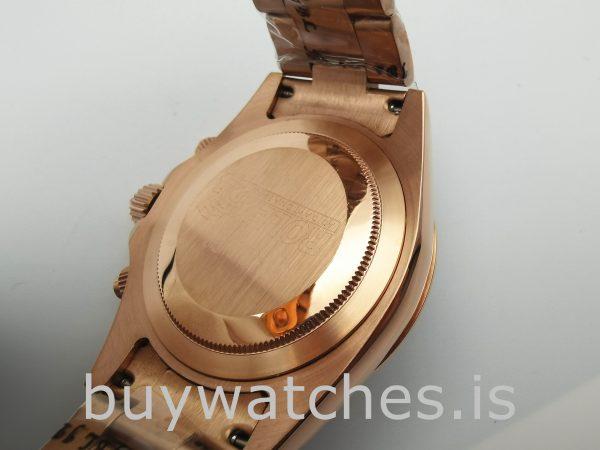 Rolex Daytona 116505 Automatische Everose Gold 40mm Austernuhr