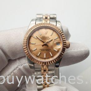 Rolex Datejust 278271 Damen 31mm Roségold Stahl Automatikuhr