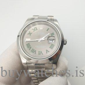 Rolex Datejust 126300 Stahlgrau Unisex 41 Mm Faltverschluss Automatikuhr