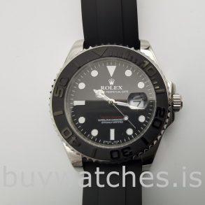 Rolex Yacht-Master 226659 Herren Schwarz 42mm Faltbare Automatikuhr