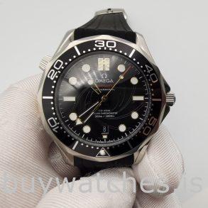 Omega 210.22.42.20.01.004 Seamaster Black Rubber 42 Mm Automatikuhr