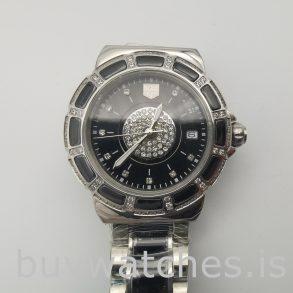 Tag Heuer Formula 1 WAH1219.BA0859 Runde 35 mm Quarzschwarze Uhr