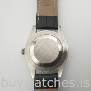 Rolex Cellini Date 50519 Herren 39mm Stahlblau Automatikuhr