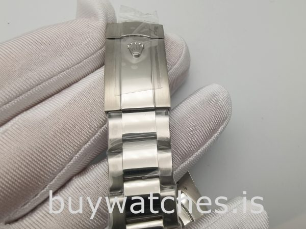 Rolex Air-king 116900 Herren Schwarz 40mm Edelstahl Automatikuhr