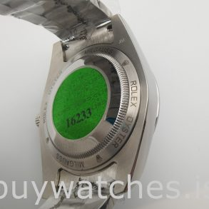 Rolex Milgauss 116400 Herren 40mm Orange Steel Automatikuhr