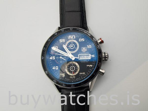 TAG Heuer Carrera CV2A1R.FC6235 Runde 43mm schwarze Herren-Automatikuhr