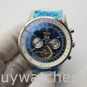 Breitling Navitimer A24322 Herren 46mm Blue Dial Automatikuhr