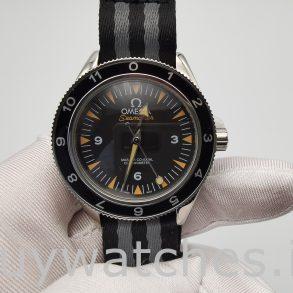 Omega Seamaster 233.32.41.21.01.001 Nylon 41mm Herren Automatikuhr