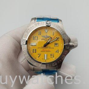 Breitling Avenger Seawolf A17331101 I1A1 Gelbes Zifferblatt Herren 45mm Uhr