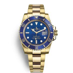 Rolex Submariner 116618LB Herren 40mm Blue Dial Automatikuhr