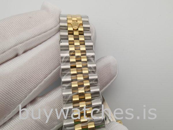 Rolex Datejust 126283RBR 36mm Champagner Zifferblatt Damen Automatikuhr