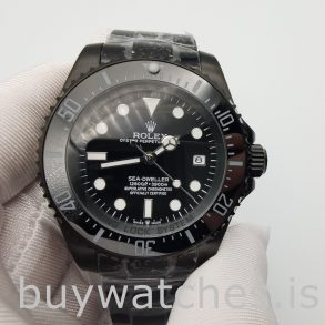 Rolex Deepsea 116660 Automatische schwarze Edelstahl 44 mm Uhr