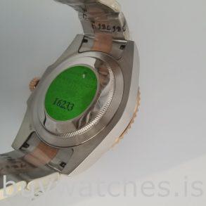Rolex GMT-Master 126711 Herren 40mm Stahl Schwarz Zifferblatt Automatikuhr
