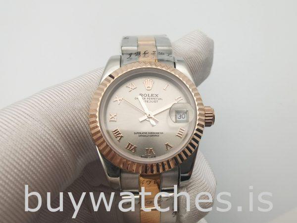 Rolex Datejust 179171 Lady Grey 26mm Stahl Roségold Automatikuhr