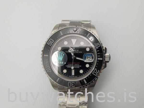 Rolex Sea-Dweller 126600 Black Steel Round 43mm Schweizer Automatikuhr