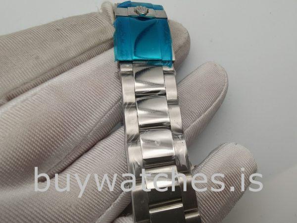 Rolex Daytona Diamant Lünette Schwarzes Zifferblatt Damen 40mm Uhr