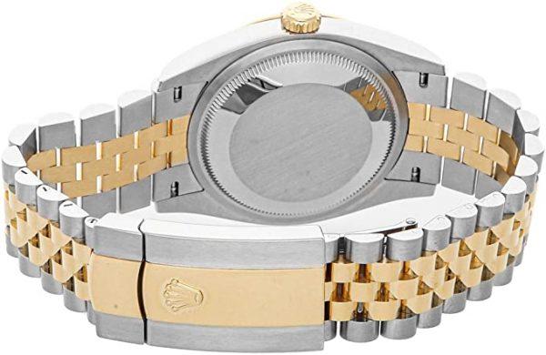 Rolex Datejust 126233 Beige Dial 36mm Automatikuhr für Herren