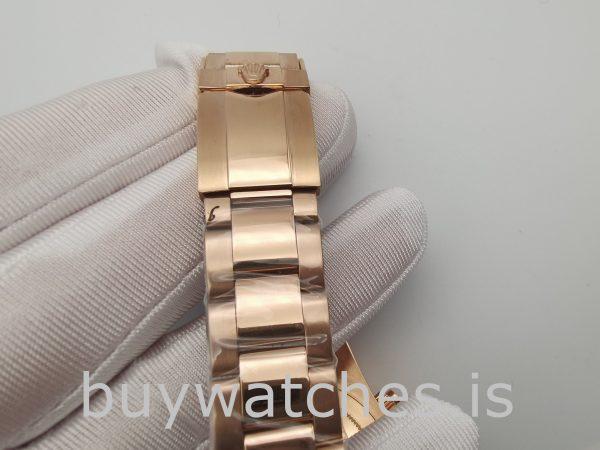 Rolex Daytona 116505 Herren 40mm Roségold Zifferblatt Automatikuhr