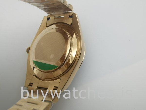 Rolex Day-Date 228238 Saphir 40mm Gelbgold Automatikuhr