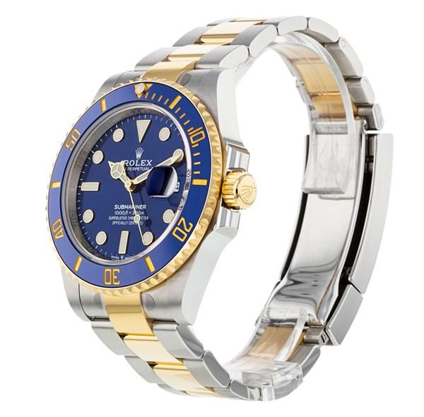 Rolex Submariner 126613 Herren 41mm Steel Blue Dial Automatikuhr