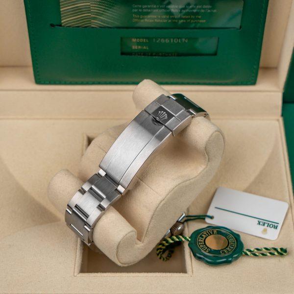 Rolex Submariner 126610 Unisex Black Dial Steel 41mm Automatikuhr